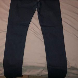 H&M dark wash skinny jeans